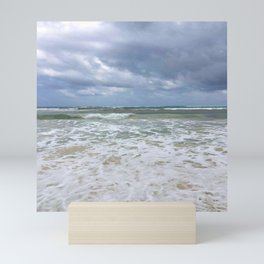 Moody Blues Beach Mini Art Print