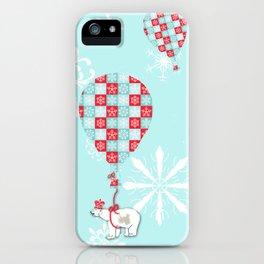 A Polar Bear Christmas iPhone Case