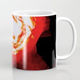 Exploding Supernova Low Poly Geometric Triangles  Coffee Mug
