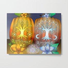 Halloween Artwork #7 (2018) Metal Print