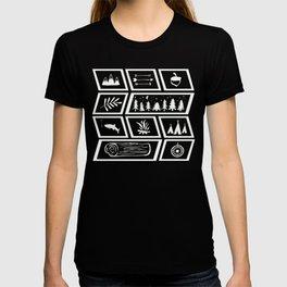 Camping [Reversed] T-shirt
