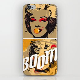 The end of Marilyn iPhone Skin