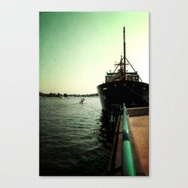 Coast Guard Festival Ship Canvas Print
