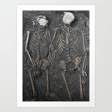 Dying In Love  Art Print