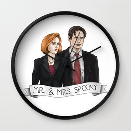 MR& MRS SPOOKY Wall Clock