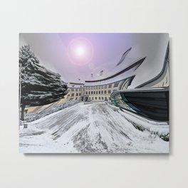 Castle Grosslaupheim Metal Print