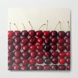Cherry cherry quite contrary Metal Print