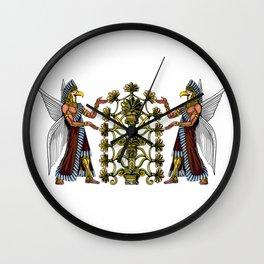 Anunnaki Aliens Ancient Sumerian Gods Wall Clock