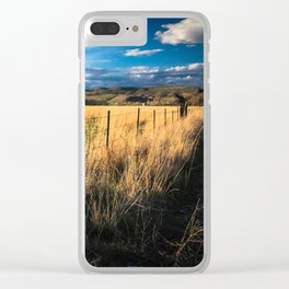 That 'Ol Country Road Clear iPhone Case