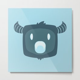 Cool Guy Metal Print