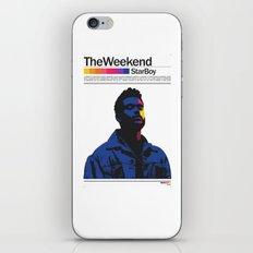 TheWeeknd iPhone & iPod Skin