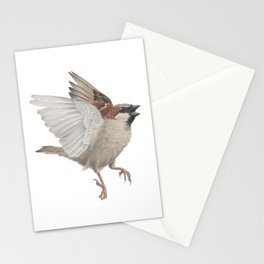 House Sparrow Stationery Cards
