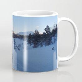 Dog sledging in Scandinavia Coffee Mug