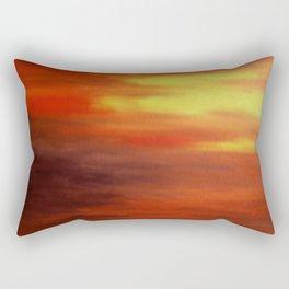 The Relenting Sun Rectangular Pillow