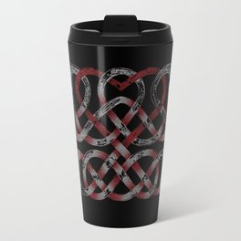 Distressed Heart Travel Mug