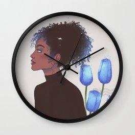 beauty and grace Wall Clock