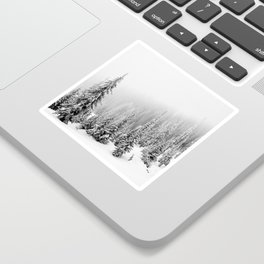 Foggy Forest Sticker