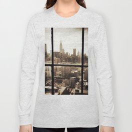 i love NY vintage Long Sleeve T-shirt