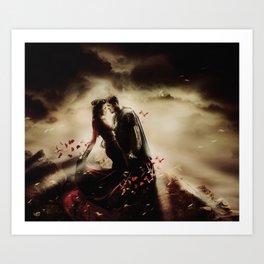 Outlaw Queen - Epic Art Print