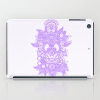 henna iPad Cases featuring Purple Henna by haleyivers