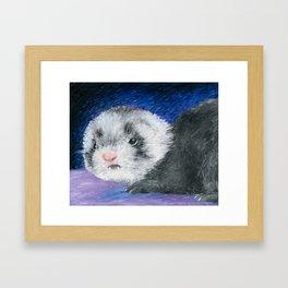 Baby Woozle Framed Art Print