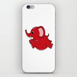Plumpy Elephant iPhone Skin