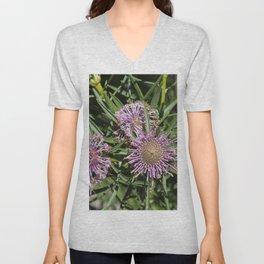 Rose Coneflower Unisex V-Neck