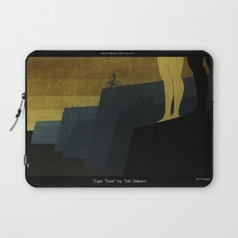 """Cape Town"" Illustration Toni Demuro Laptop Sleeve"