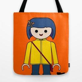 coraline style Tote Bag