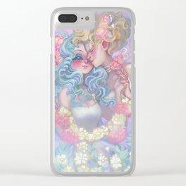 Haruka x Michiru Clear iPhone Case