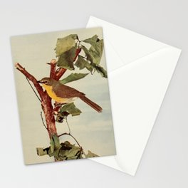 Neltje Blanchan - Bird Neighbours (1903) - Yellow-Breasted Chat Stationery Cards