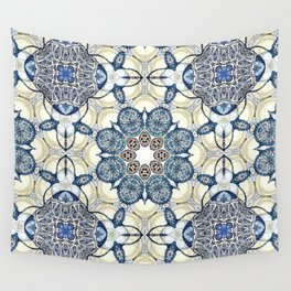 Blue fruit Wall Tapestry