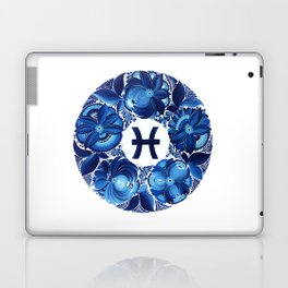 Pisces in Petrykivka style (without artist's signature/date) Laptop & iPad Skin