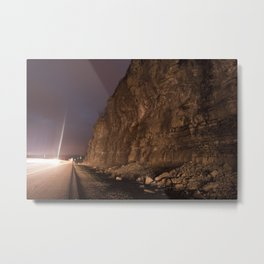 The Highway Metal Print