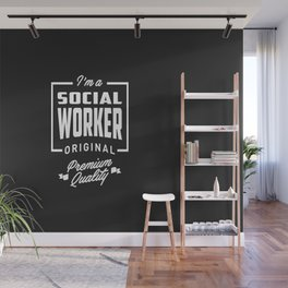 Gift for Social Worker Wall Mural