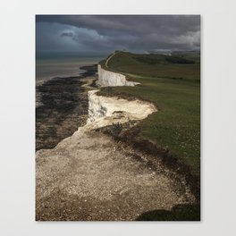 White cliffs of Beachy Head Canvas Print