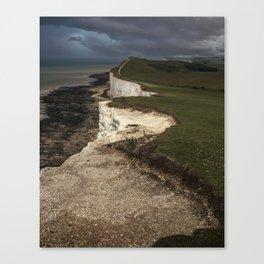 White cliffs of Beachy Head Canvas Print
