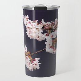 Cherry Blossoms (illustration) Travel Mug