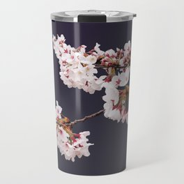 Cherry Blossoms (illustration) Travel Mug