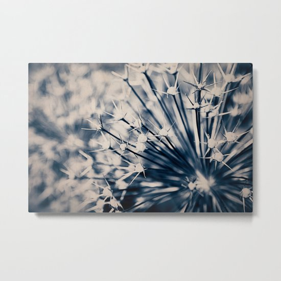 Blue Nature Metal Print