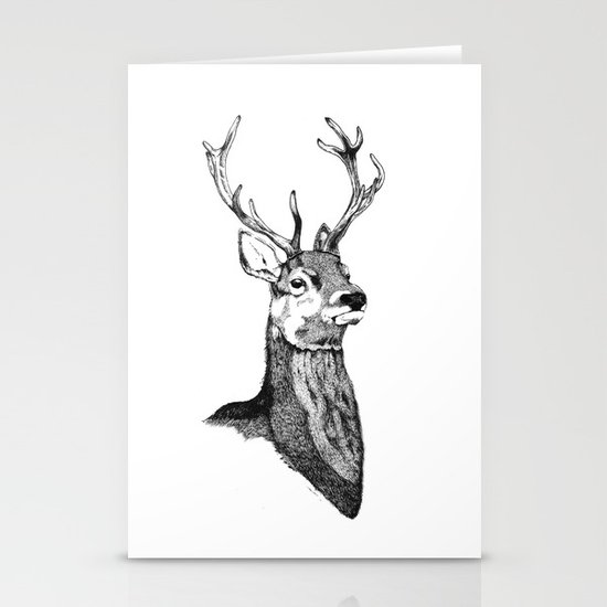 Noble Stag Stationery Cards