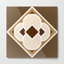 Smore and Dark Hot Chocolate Metal Print