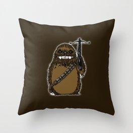 Chewtoro Throw Pillow