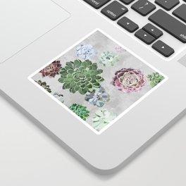 Simple succulents Sticker