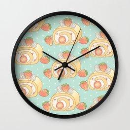 Sweet Roll Cake Wall Clock