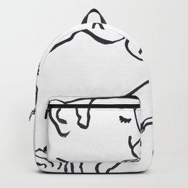 We Can Make it Rain Silver and Gold Backpack