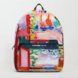 Henri Matisse Open Window Backpack