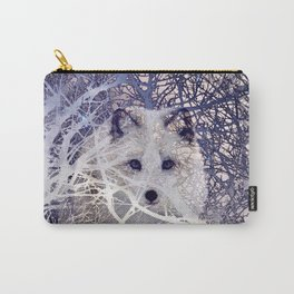 Winter Fox I Carry-All Pouch