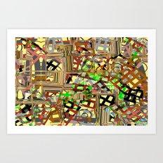 Grid parts2  Art Print