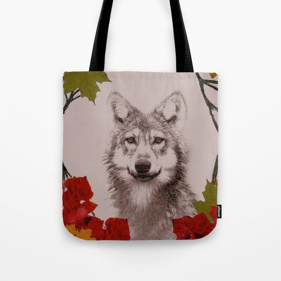among the leaves (evening) Tote Bag